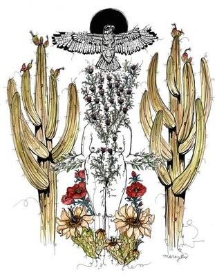 Sacred Harvester, Signed Giclee Print