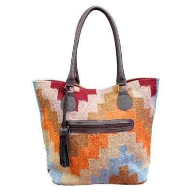 Fall Geo Shoulder Bag