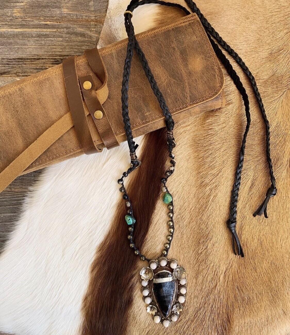 Vintage Arrowhead Necklace