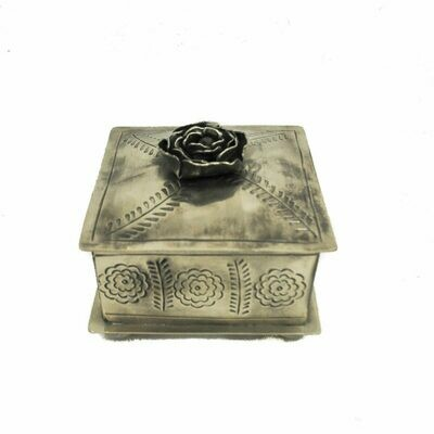 Stamped Rose Box