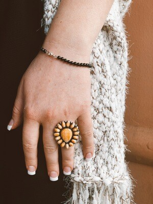 Spiny Oyster Shell Ring