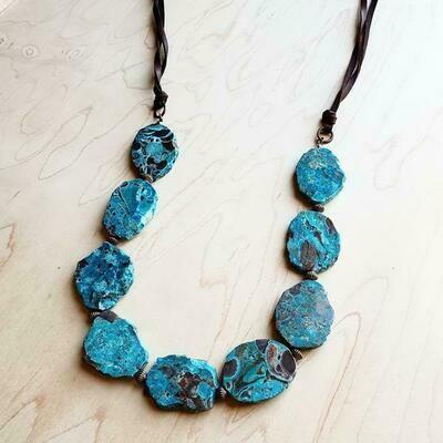 Ocean Agate Necklace