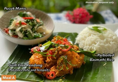 23 Sep (THU) [Guilt-Free Rendang   Deconstructed Dhall Curry   Best Sellers]
