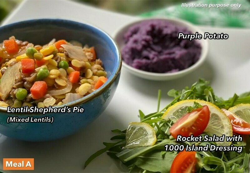 10 Mar (WED) [Lentil Shepherd's Pie   Bibimbap Ala Korea   4 Heavenly Queens]