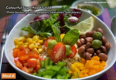 3 Oct (SUN) [Superfood Salad   Chap Chye Curry   Best Sellers]