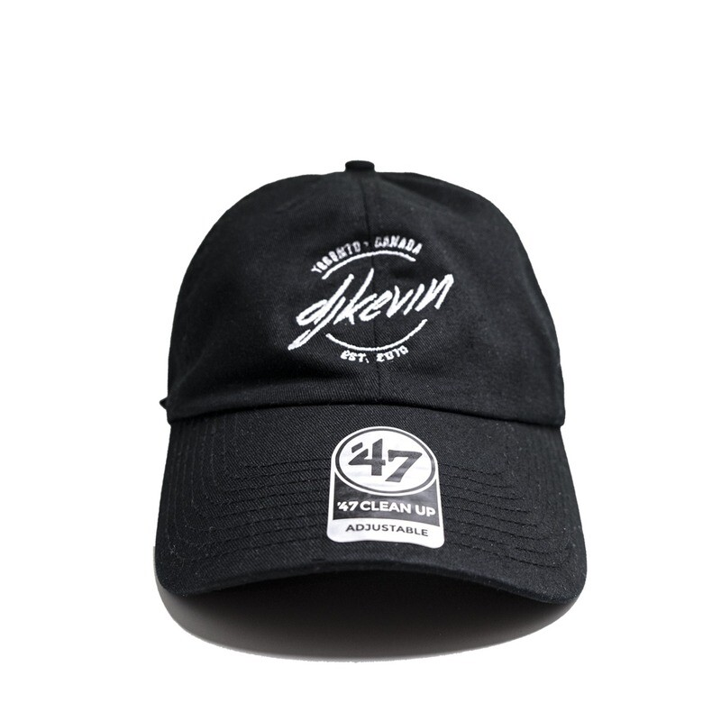 DJ Kevin Black Classic Embroidered Hat