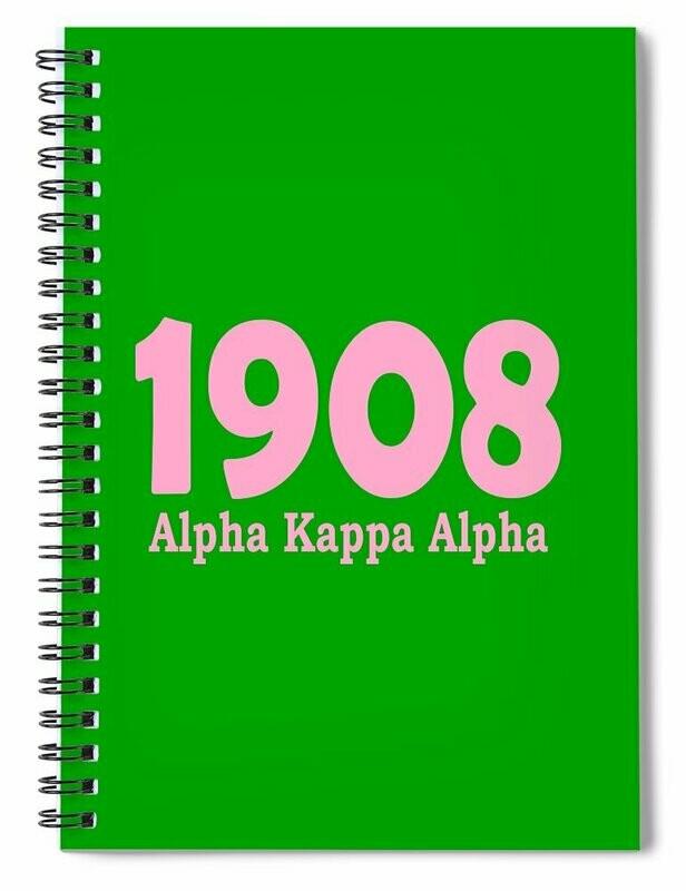 AKA 1908 Spiral Note Book
