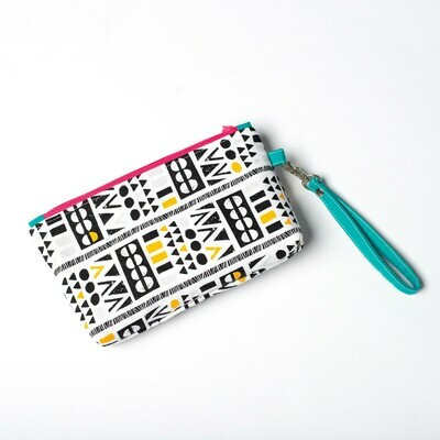 Wildflower Wristlet - Tribal