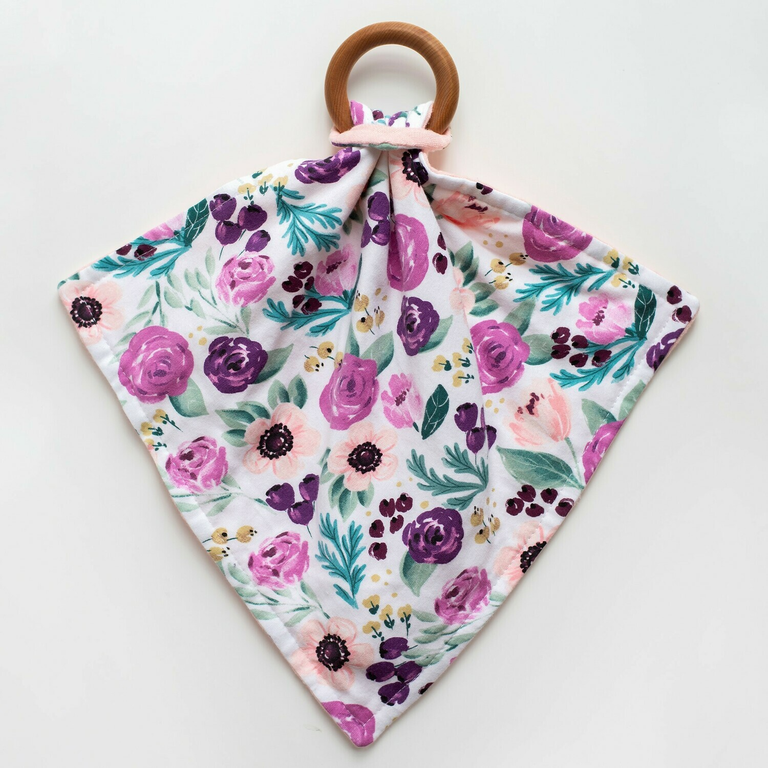 Orange Blossom Teething Lovey - Floral