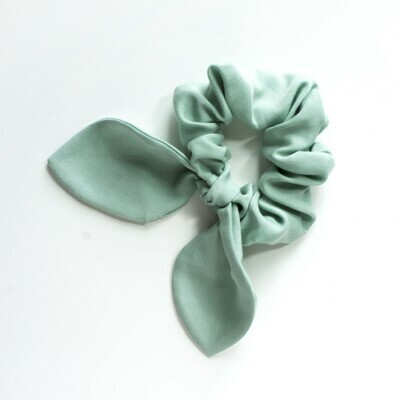 Georgia Belle Scrunchie - Lyocell Twill - Sage Green