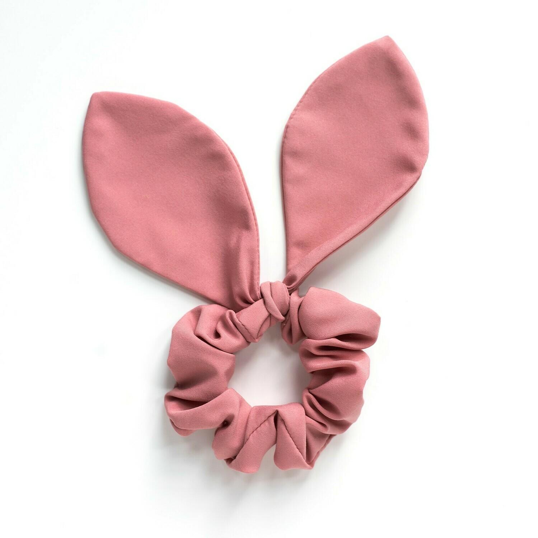 Georgia Belle Scrunchie - Chiffon - Mauve Pink