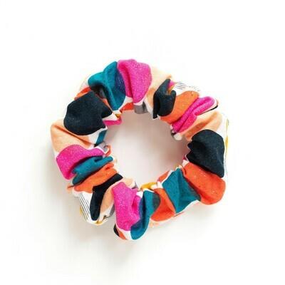 Sunland Scrunchie - Cotton - Retro Circles
