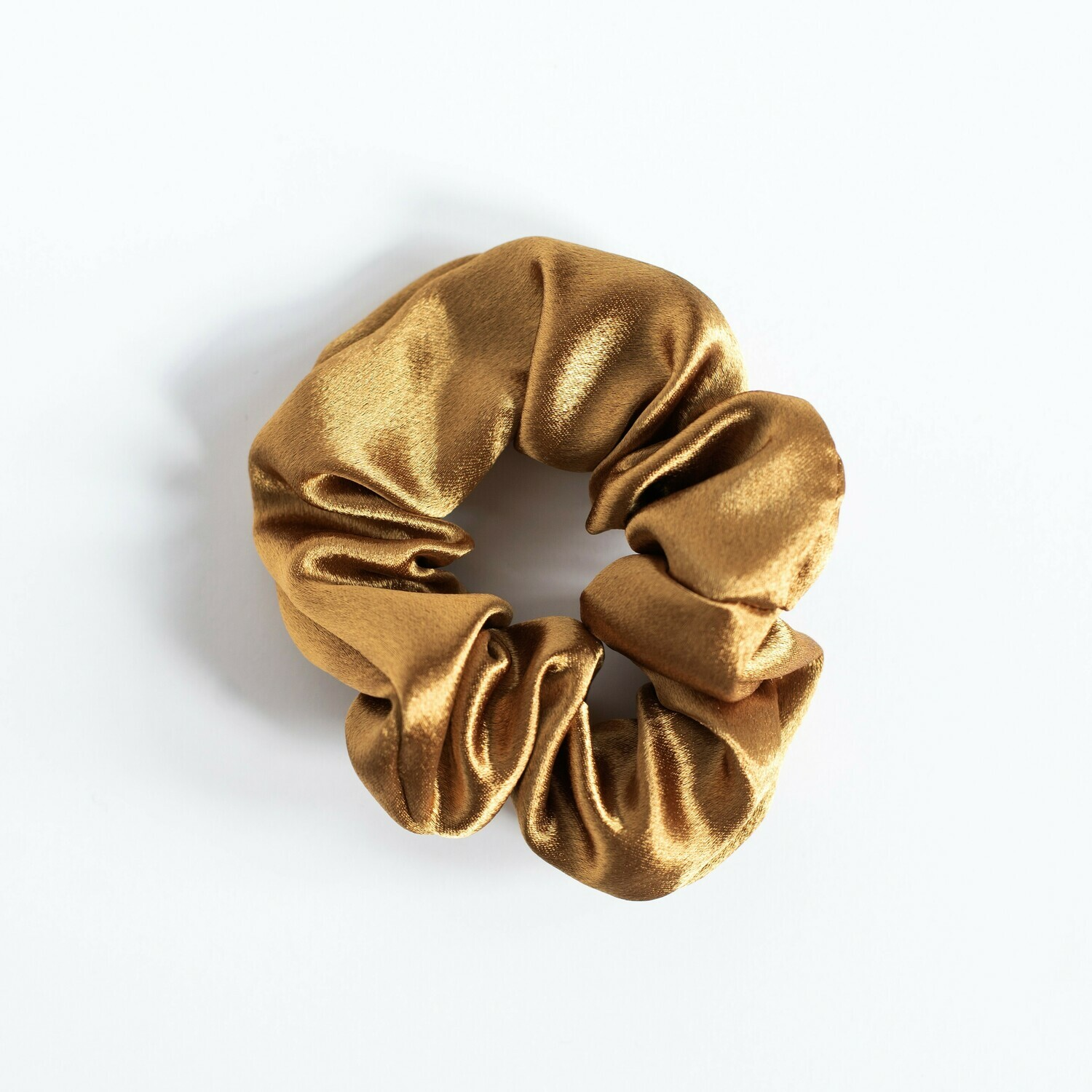 Sunland Scrunchie - Satin - Gold