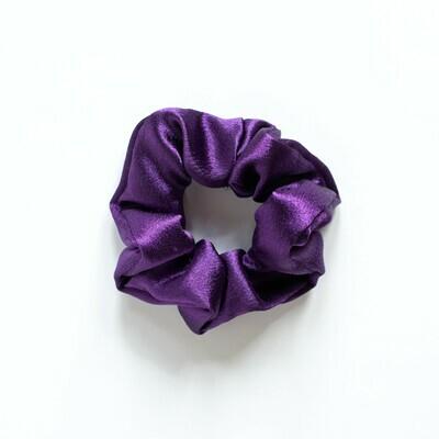 Sunland Scrunchie - Satin - Purple