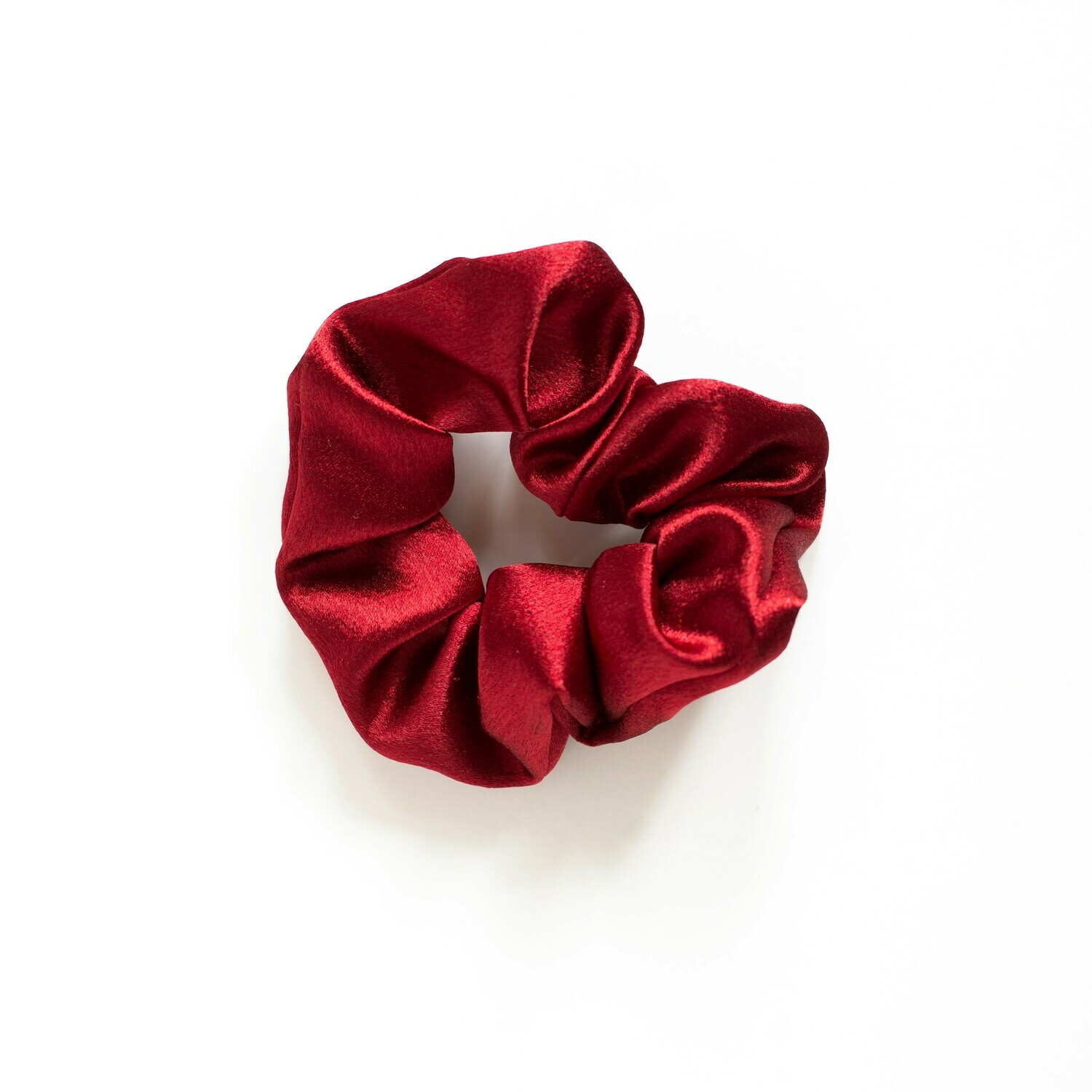 Sunland Scrunchie - Satin - Red