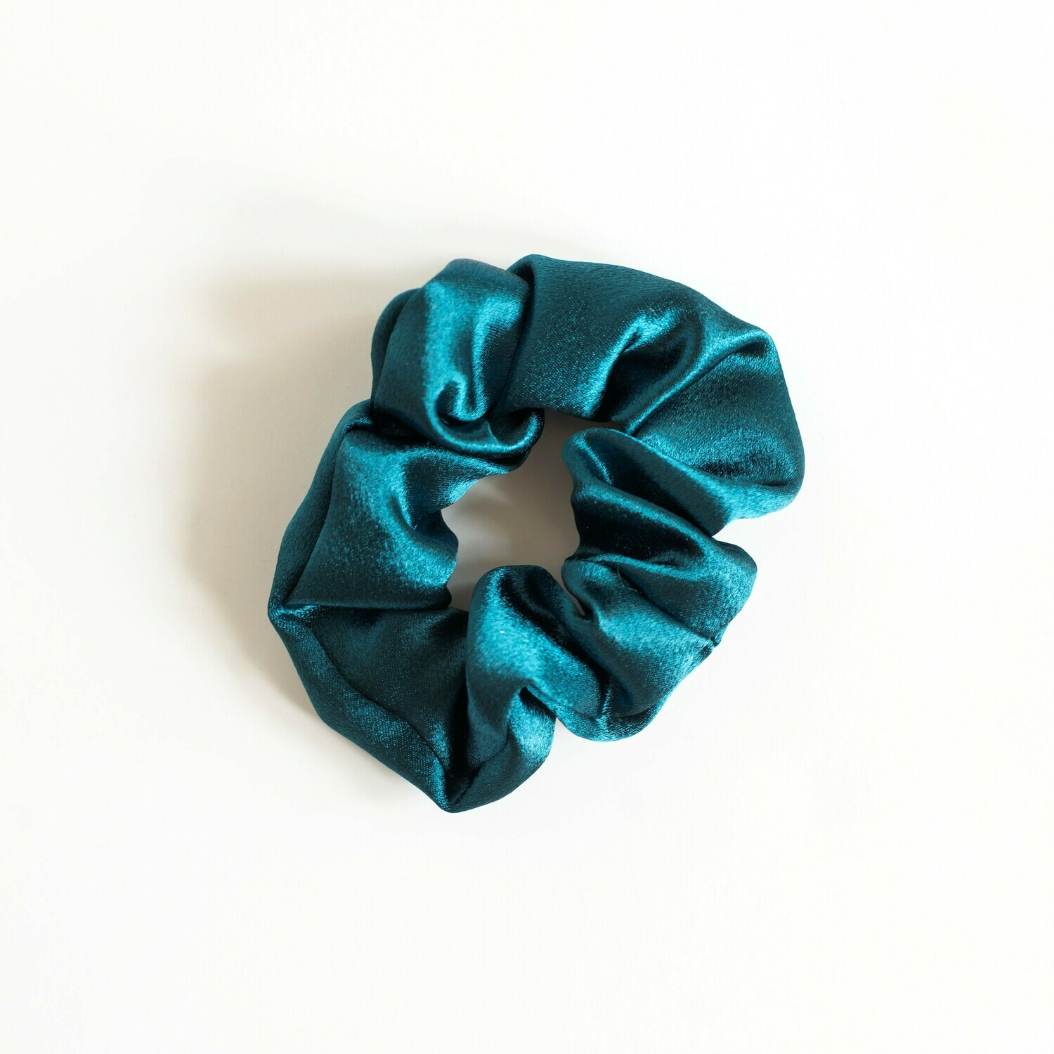 Sunland Scrunchie - Satin - Teal