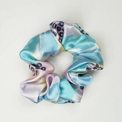 Sunland Scrunchie - Satin - Colorful Pastel