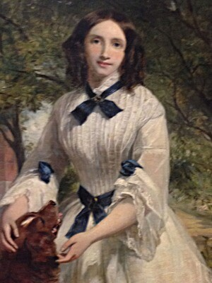 Firth, William Powell - Portrait of Lady Dog