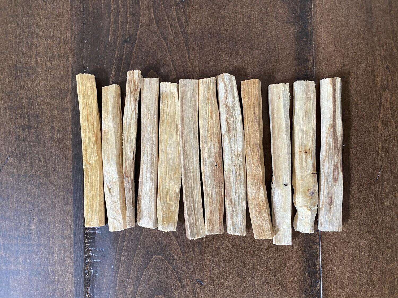 Ecuadorian Palo Santo Bundle of 12