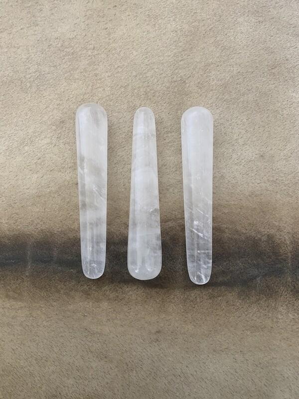 Clear Quartz Acupoint & Massage Wand