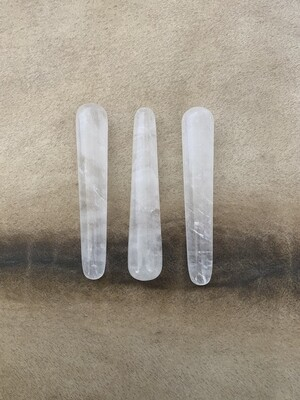Clear Quartz Acupoint & Massage Wand