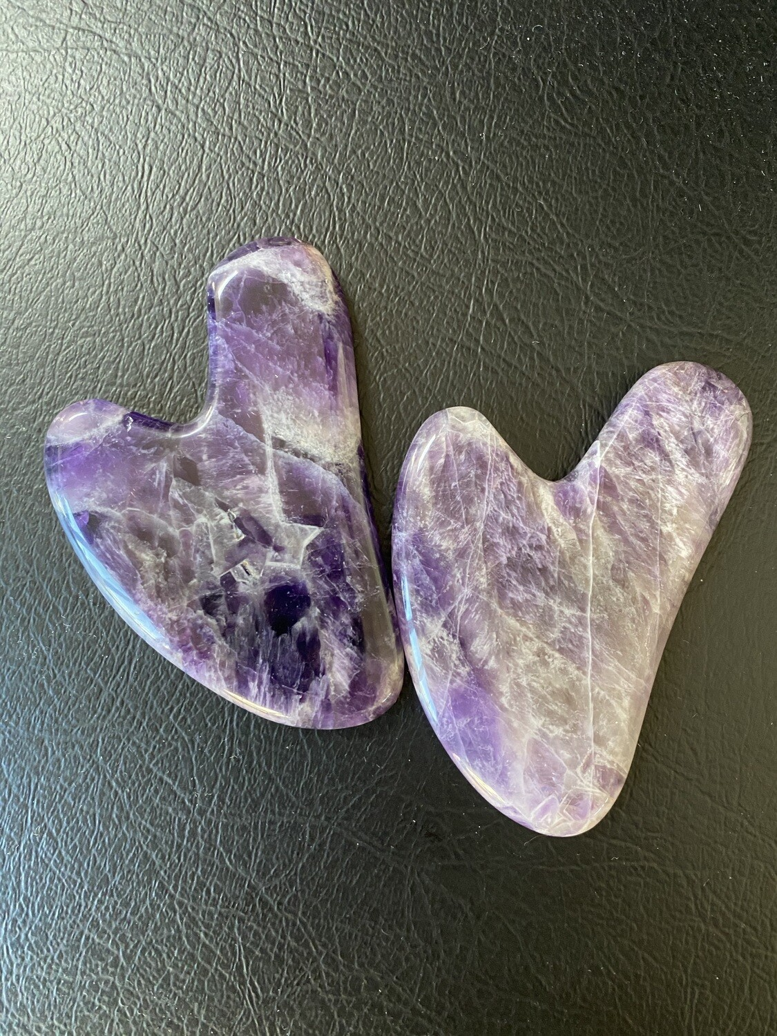 Amethyst Gua Sha Lymphatic Massage Tool