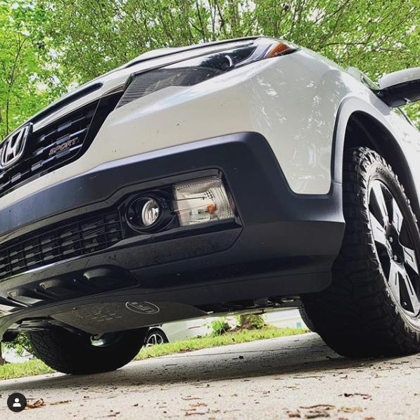 No-Lo Designs Honda Ridgeline Gen2 Skid Plate Front FITS 2016 To 2021