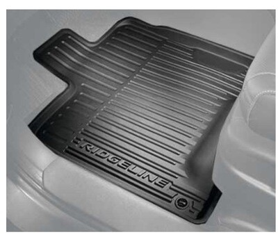 Ridgeline Floor Mats, All-Season, High Wall - Honda (08P17-T6Z-100)