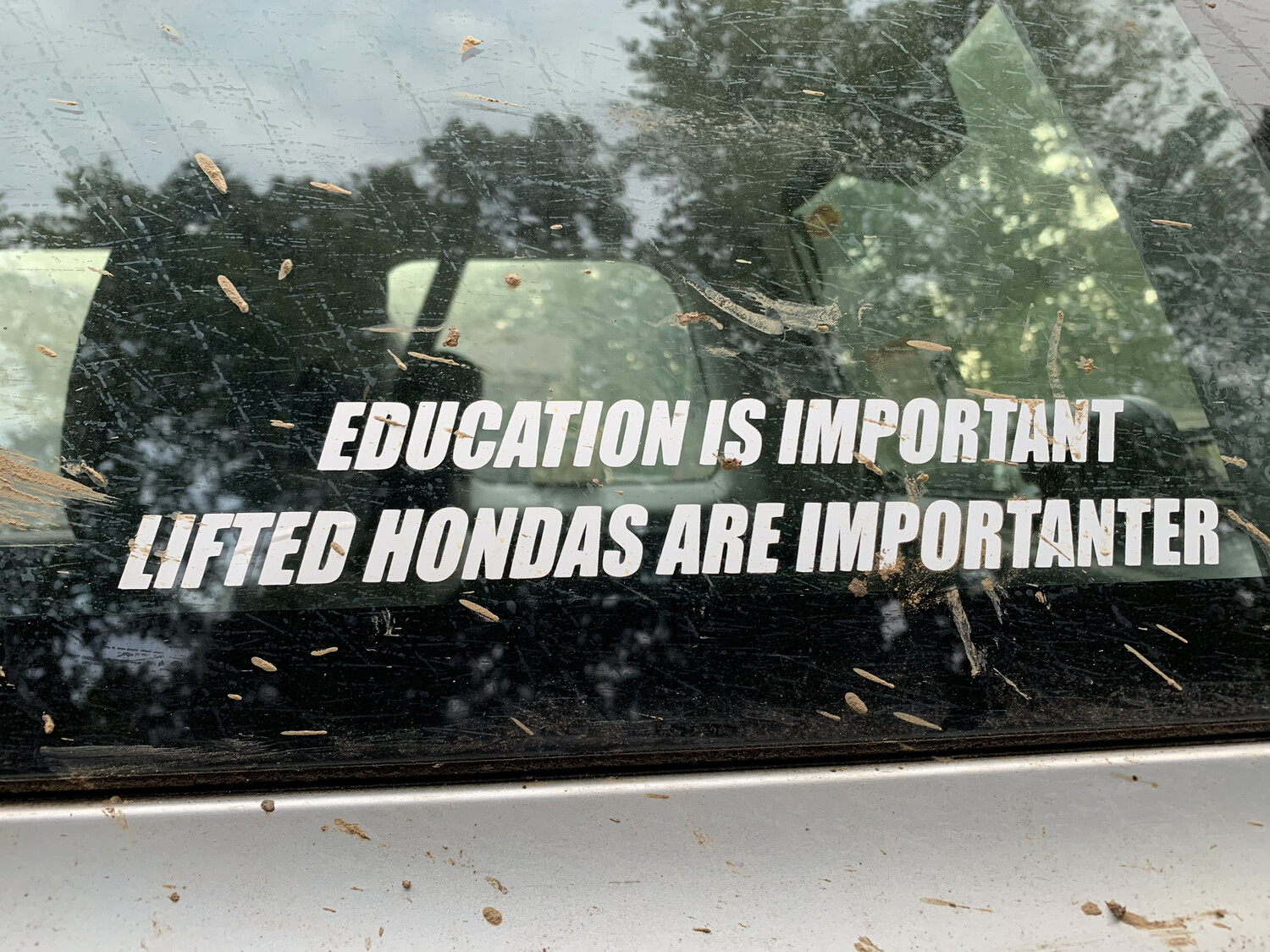 STICKER Lifted Hondas Are Importanter