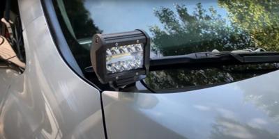 No-Lo Designs Honda Ridgeline V2 DITCH LIGHT BRACKETS & All Gen 2 Fits 2016-2021