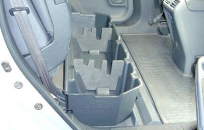 Honda Ridgeline Du-Ha Under Rear Seat Storage