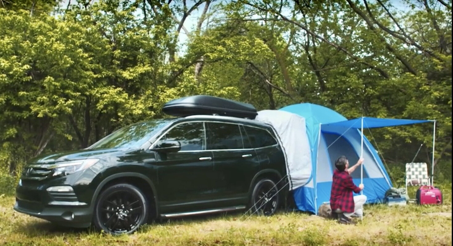 Honda Hatch Tent - Fits Passport Pilot Cr-v Odyssey (08Z04-SCV-110B)