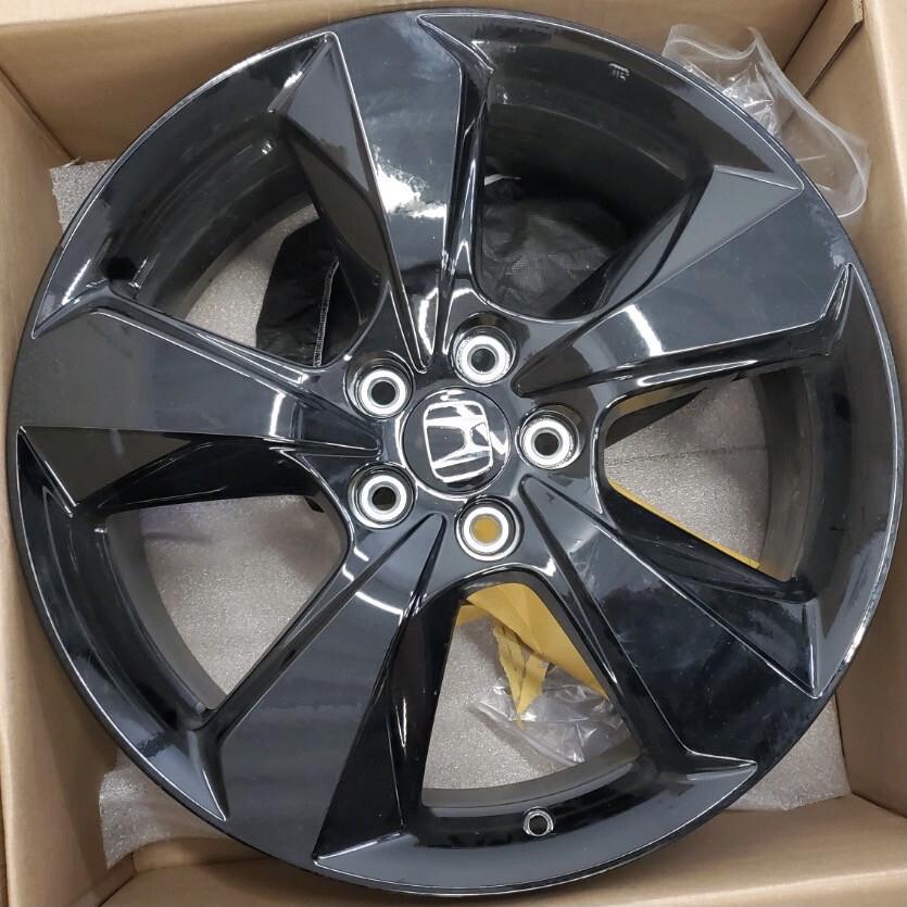 Honda OEM 20 Inch 5 Spoke Black Alloy Wheel(s)