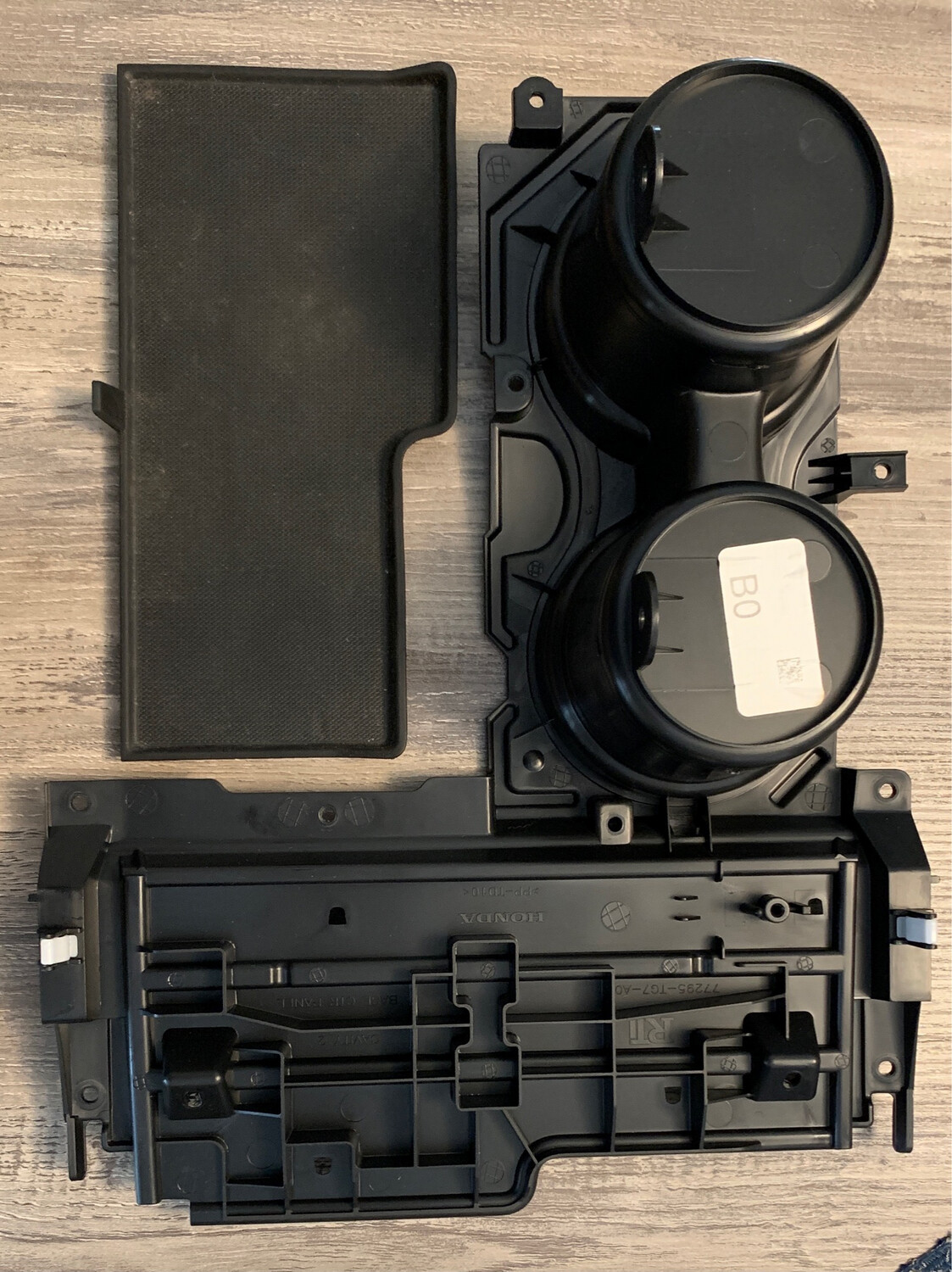Used Non Charging Cup Assembly With Mat