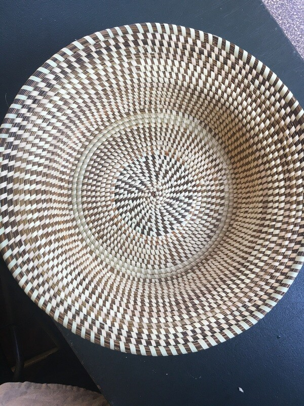 Contemporary Styled  Gullah Rice Fanner Basket