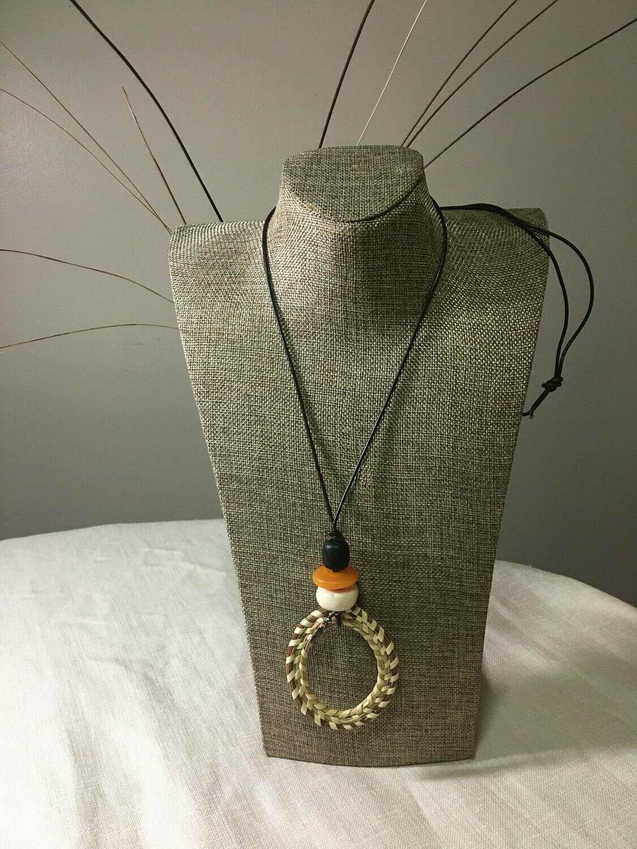 Sweetgrass Multi-color Pendant Necklace