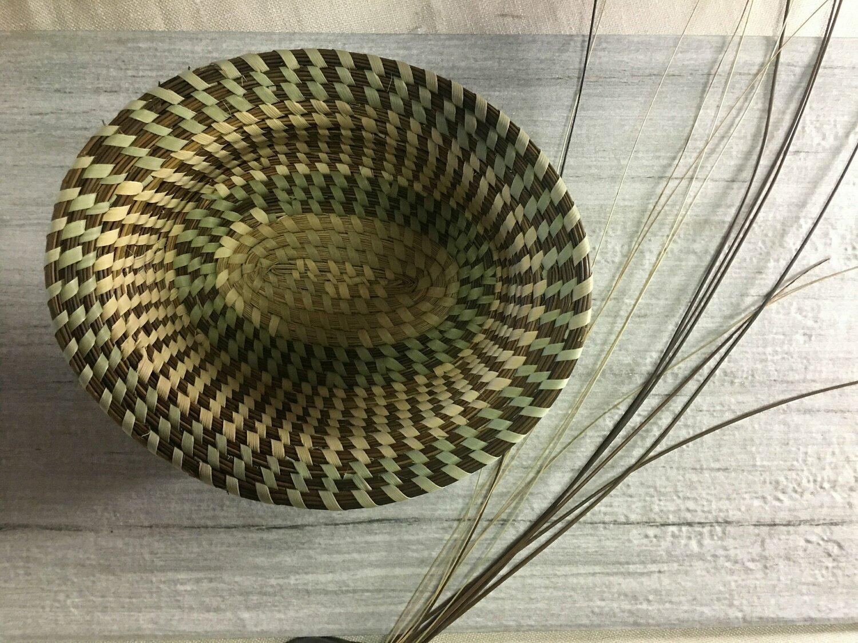 Sweetgrass Multicolor Designer Multipurpose Basket