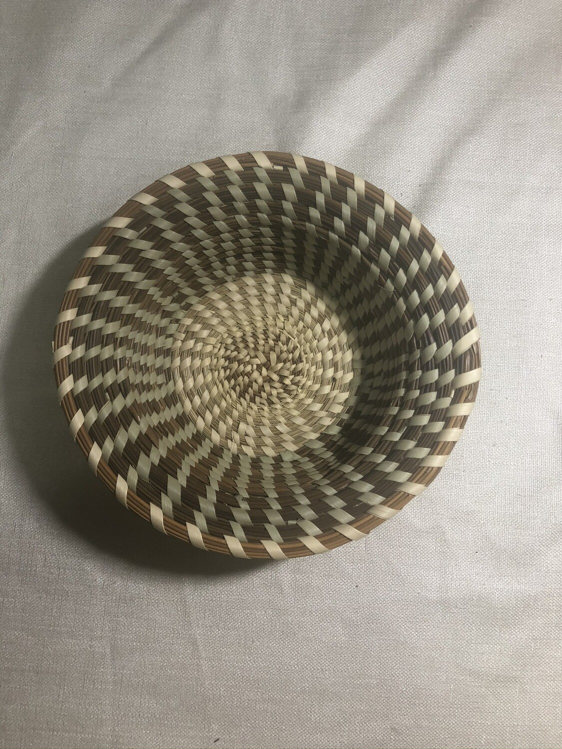 Small Trinket Sweetgrass Basket.