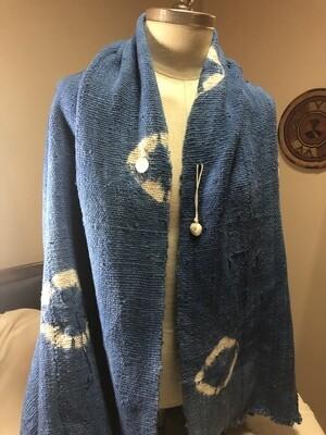 The Mali Mudd Cloth shawl