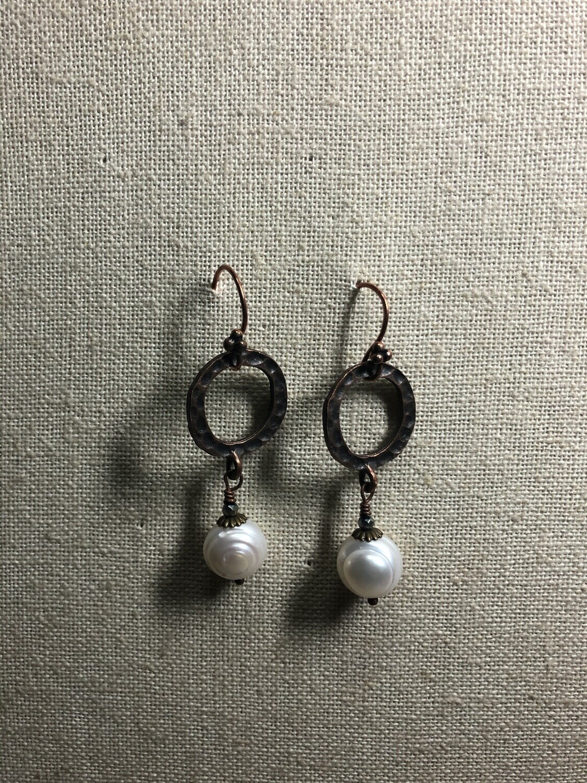 Rustic Pearl drops