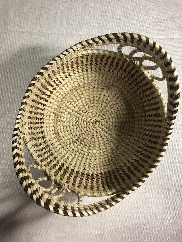 Deep Dish Sweetgrass Basket