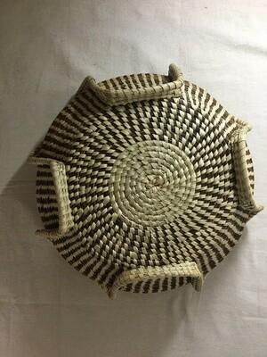 Ribbed vase Sweetgrass Basket