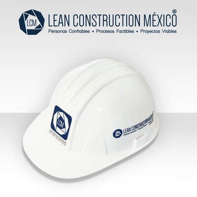 Casco Blanco Lean Construction México®