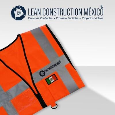 Chaleco de Seguridad:  Lean Construction México®