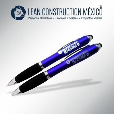 Pluma Personalizada:  Lean Construction México®