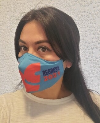 Mascarillas solidarias de la Revolución Ciudadana - RC  Regresa 2021