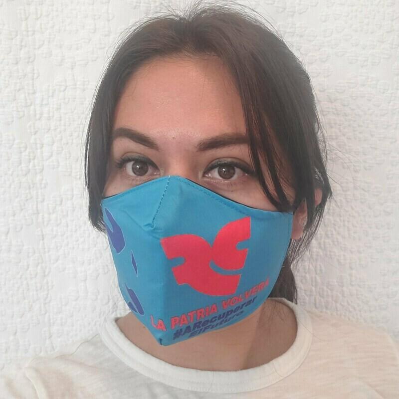 Mascarillas solidarias de la Revolución Ciudadana - La Patria Volverá