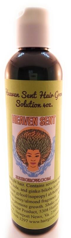 Hair Grow Solution 4 oz (straight hair)