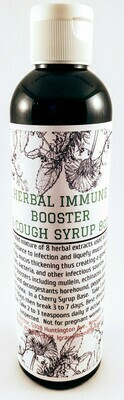 Herbal Immune Booster & Cough Syrup 8oz