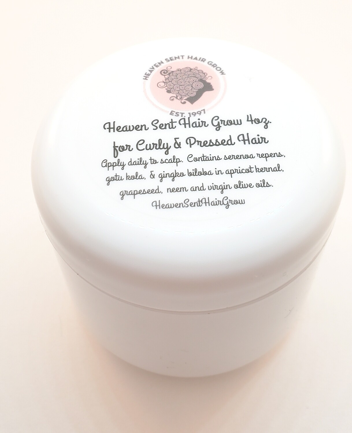 Hair Grow Butter 4 oz. (curly/pressed)